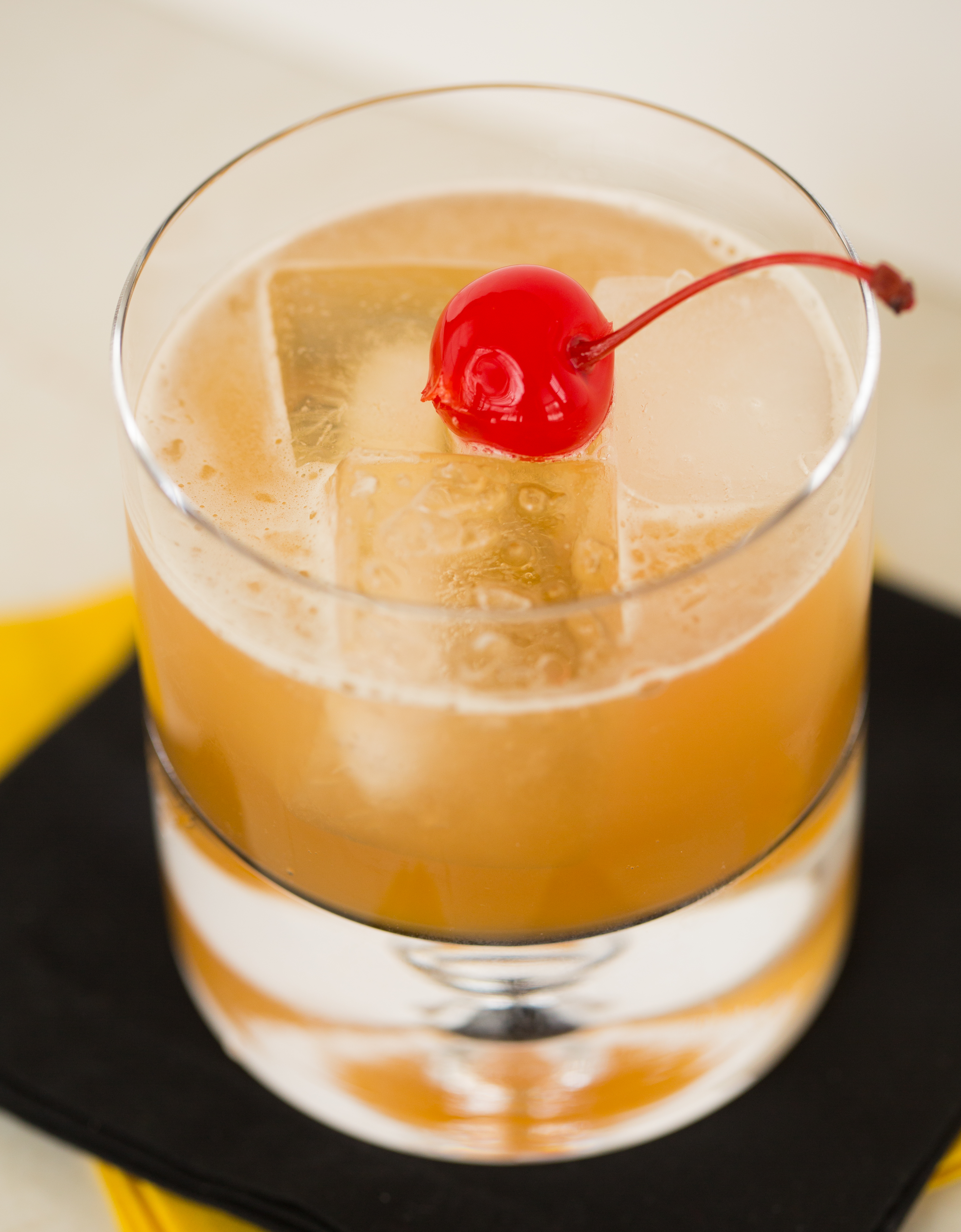 Cherry Juice In Old Fashioned
