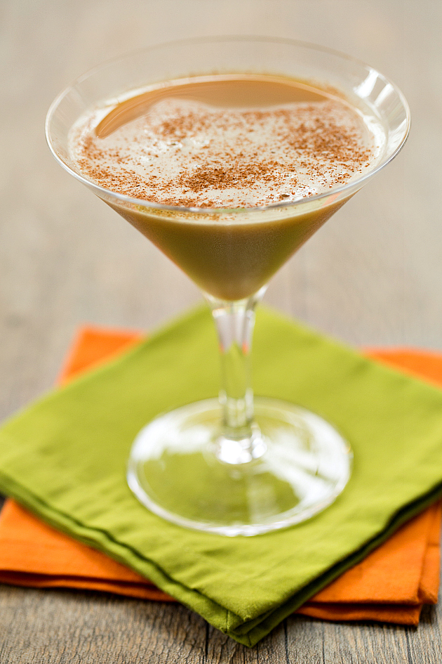 Pumpkin Spice Latte Martini Recipe