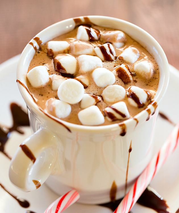 Peppermint Hot Chocolate - The Drink KingsThe Drink Kings