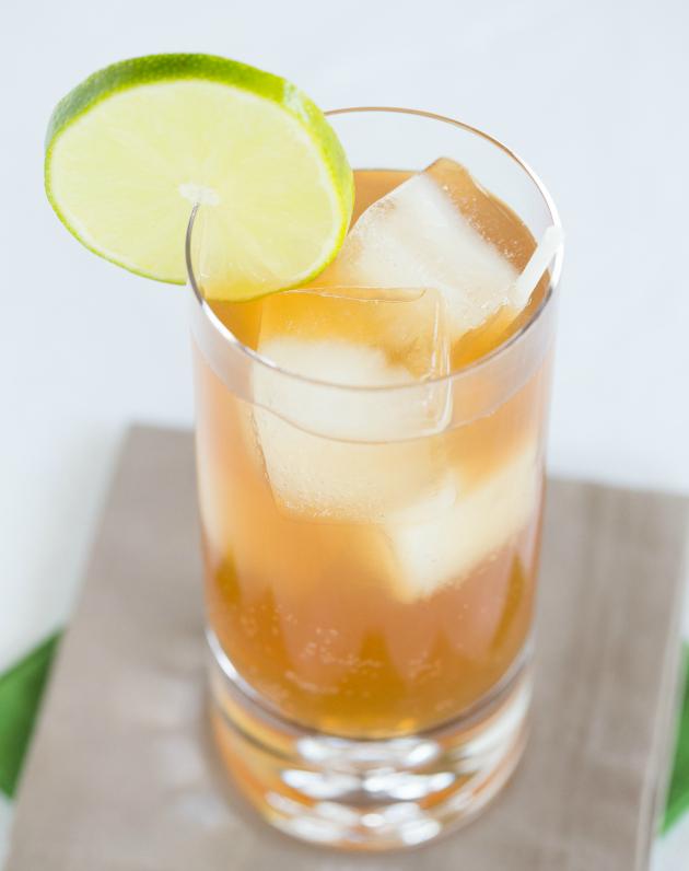 Bourbon Ginger Beer Drink