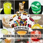9 Cocktails for Halloween 2017 #halloween #drinks #cocktails
